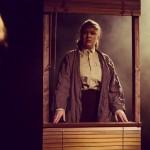 Roderigo (Hannah Morley) and Brabantio (Terri Reddin) in Smooth Faced Gents' Othello. Photo: Richard Davenport.