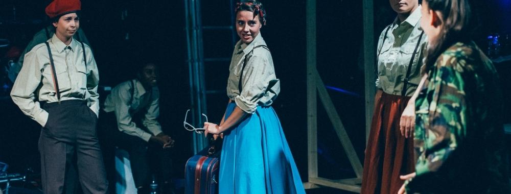 Desdemona arrives in Cyprus